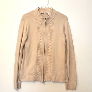 (2for20) French Laundry Sport Tan Knit Sweater (L)